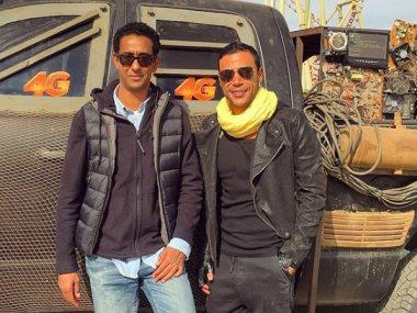محمد إمام ومروان حامد