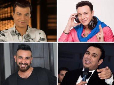 مصطفى قمر وايهاب توفيق واحمد سعد والليثي