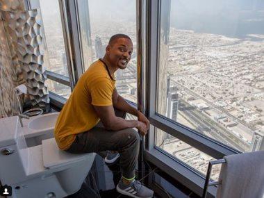 ويل سميث فى برج خليفة