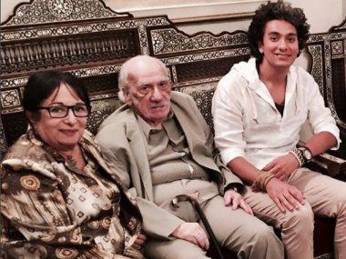 محمد محسن والكاتب محفوظ عبد الرحمن