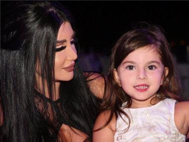 جينى اسبر و ابنتها