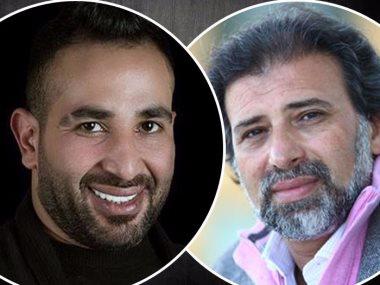 خالد يوسف وأحمد سعد