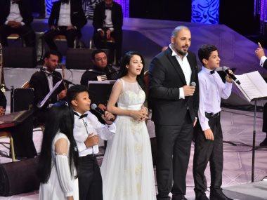 رامى عياش مع الأطفال