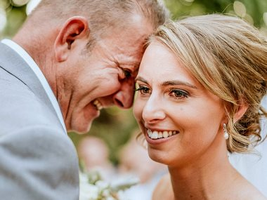 إحدى صور حفل الزفاف