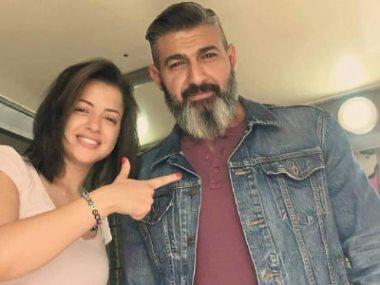 ياسر جلال و منى فاروق