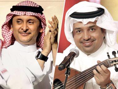 راشد الماجد وعبد المجيد عبد الله