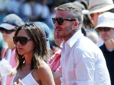 ديفيد بيكهام وزوجته