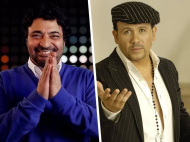 هشام عباس وحميد الشاعرى