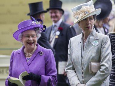 الاميرة آن والملكة اليزابيث