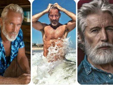 رجال بعد الستين أجمل