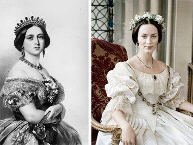 إيميلى بلانت و الملكة فيكتوريا