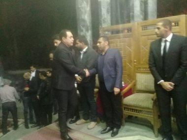 جانب من عزاء علاء الغول