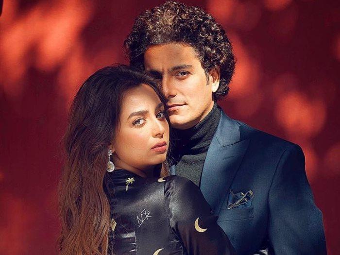 هبة مجدى ومحمد محسن
