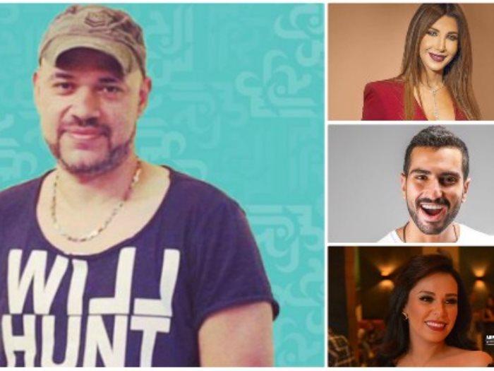 خالد تاج الدين ونانسى والشرنوبى ومروة ناجى