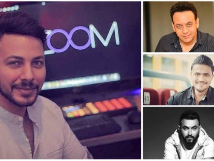 زووم ومصطفى قمر وكريم محسن وهيثم سعيد