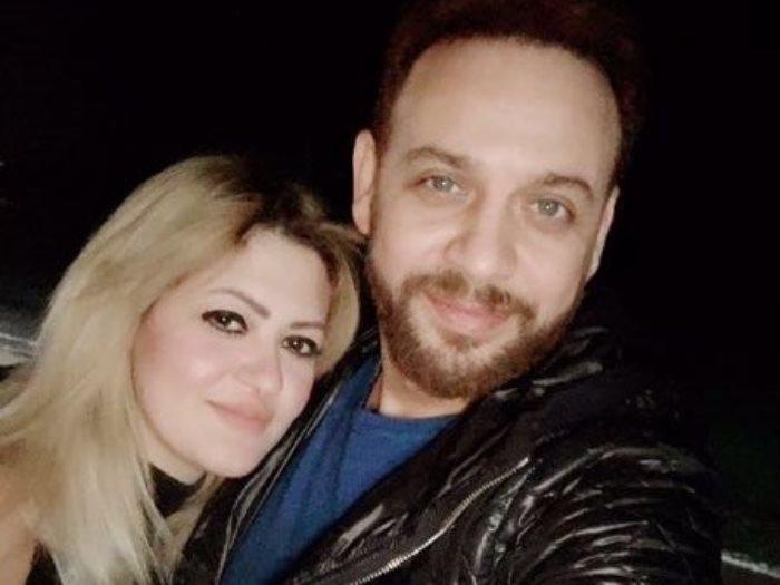 مصطفى قمر وزوجته غادة رزق