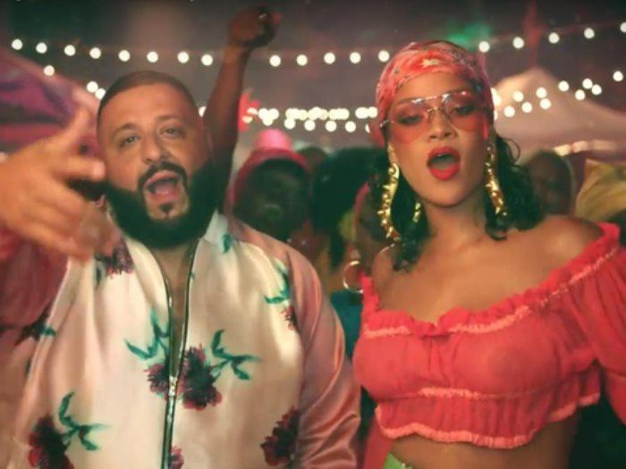 Rihanna and DJ Khaled