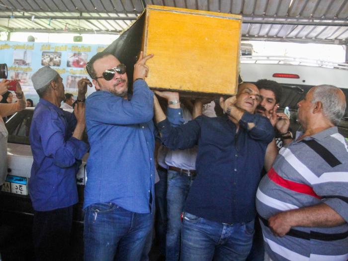 جنازة والدة تامر عبد المنعم