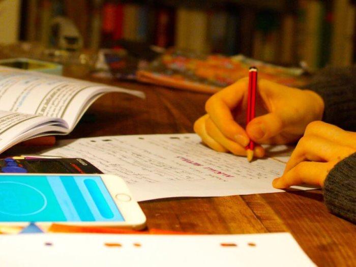 ليلة الامتحان