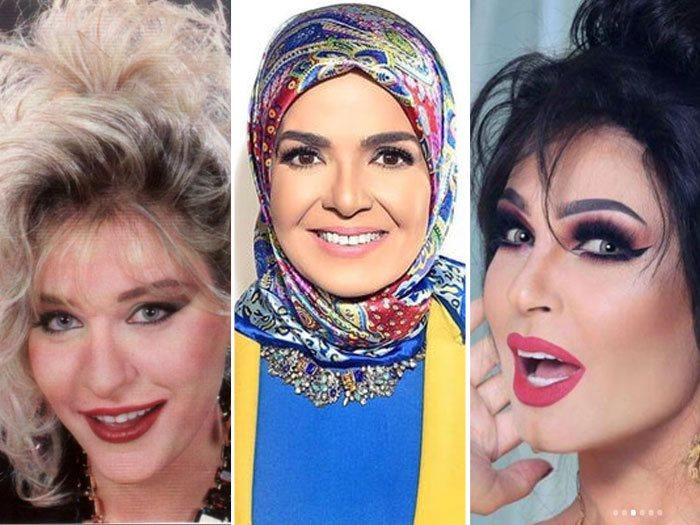 فيفى عبده و منى عبد الغنى و شيرين سيف النصر