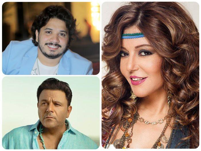 سميرة سعيد ومحمد فؤاد ومصطفى حجاج