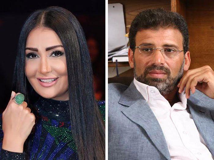 خالد يوسف وغادة عبد الرازق