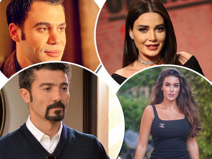 سيرين عبد النور ياسمين صبرى خالد النبوى ومحمد عادل امام