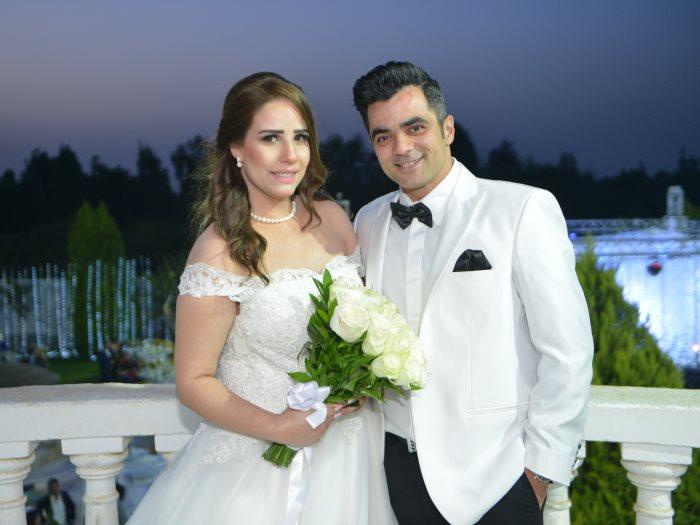 الرائد أحمد عصام شلتوت والإعلامية نيّرة شريف