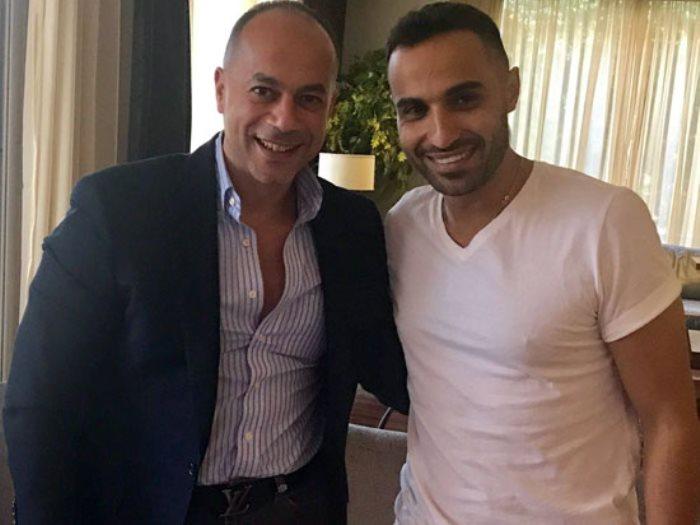 أحمد فهمى والمنتج تامر مرسى