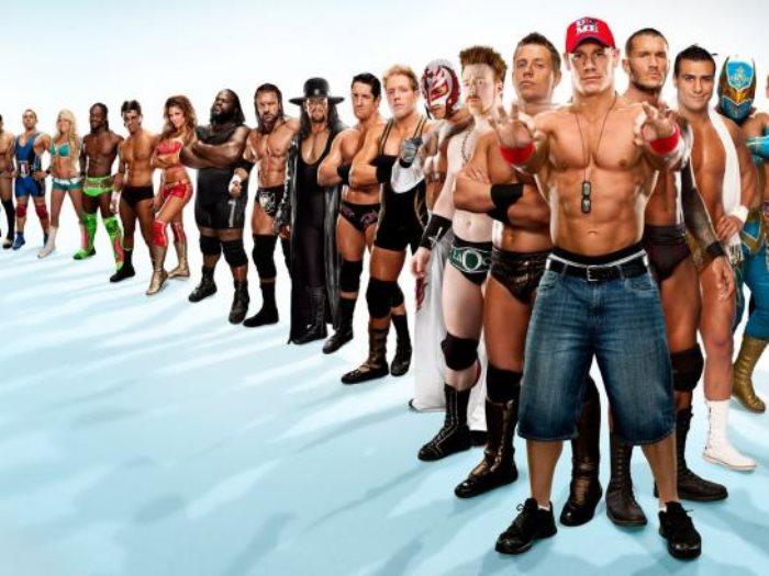 أبطال المصارعة