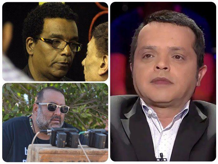 المخرج سامح عبد العزيز ومحمد هنيدى وأحمد عبد الله