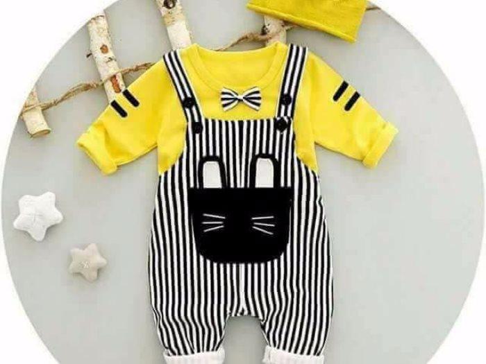44d0ec59a لو عندك طفل جديد.. أحدث موضة للأطفال لملابس الشتاء 2017 - عين