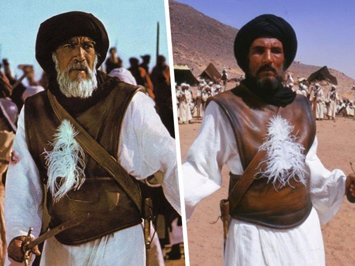 عبد الله غيث وانطونى كوين