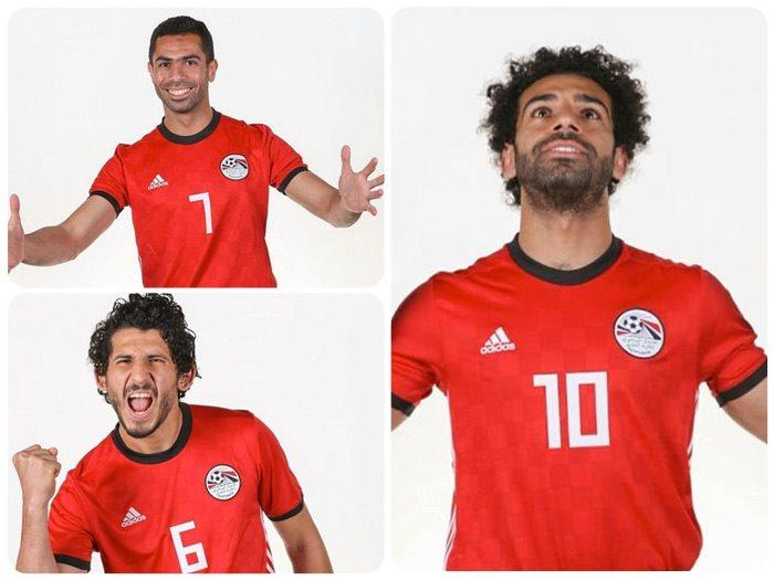 نجوم المنتخب المصرى