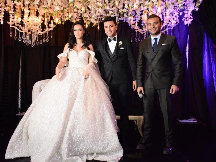 العروسان ورامى صبرى