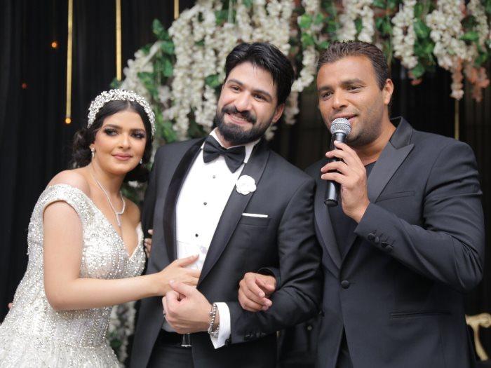 رامى صبرى والعروسين