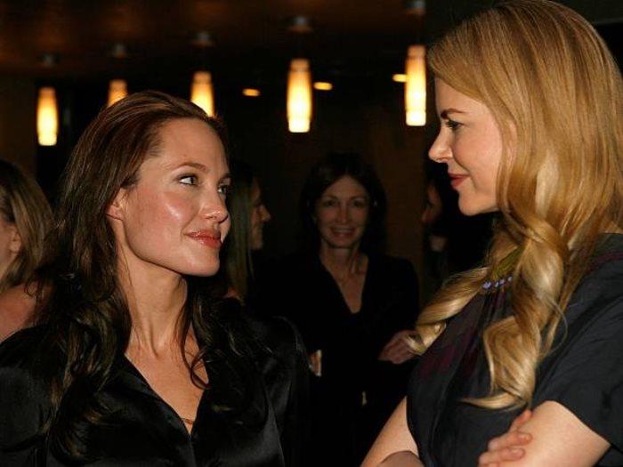 نيكول كيدمان وانجلينا جولى