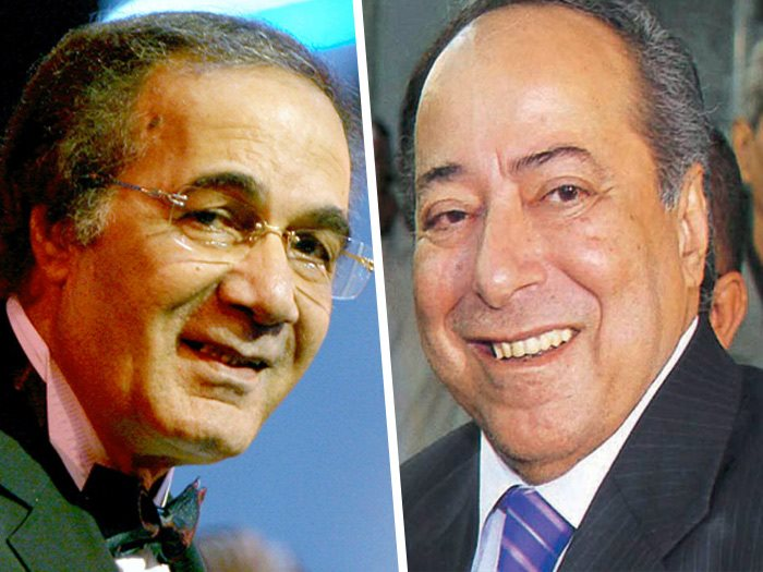صلاح السعدنى و محمود ياسين