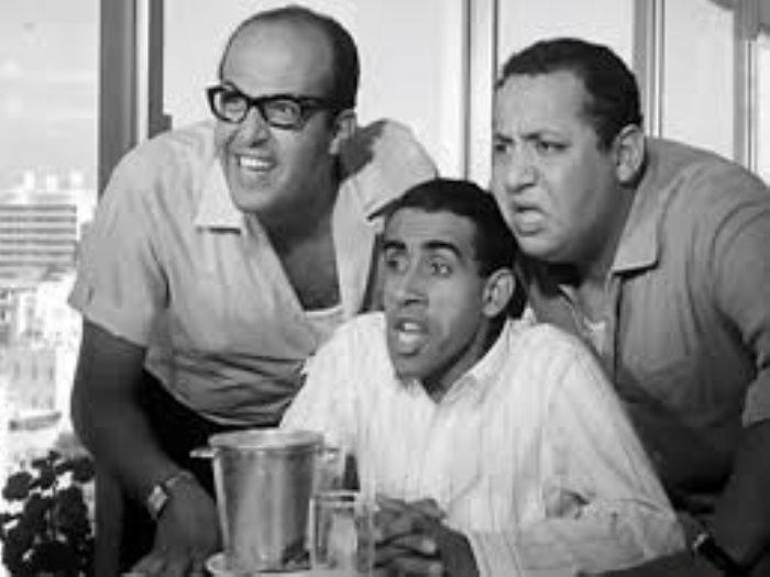 الضيف أحمد مع سمير غانم وجورج سيدهم