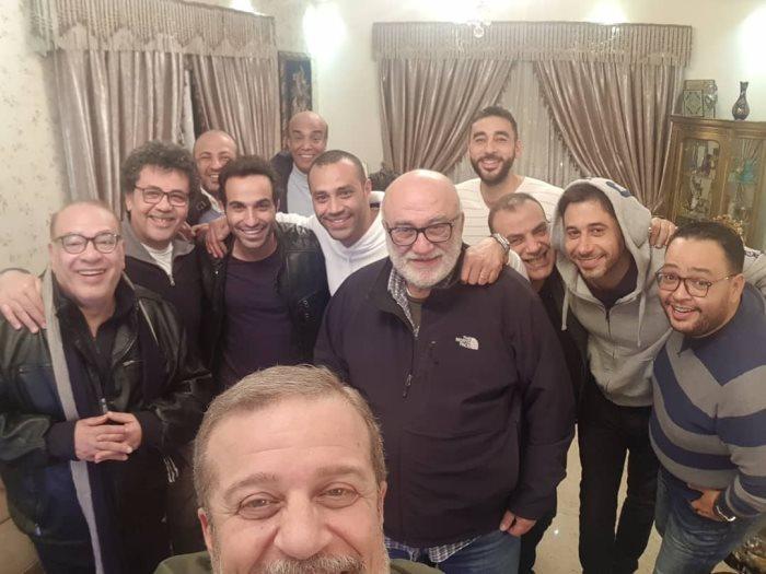 شريف منير وصلاح عبدالله واحمد السعدنى واحمد فهمى واحمد رزق