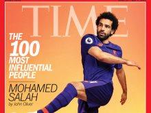 محمد صلاح على غلاف مجلة التايم