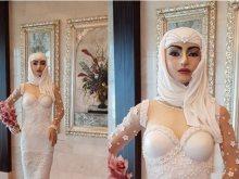 تورتة فستان زفاف