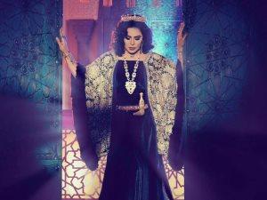 أحلام تنشر صورتها من على المسرح الملكى فى لوس أنجلوس
