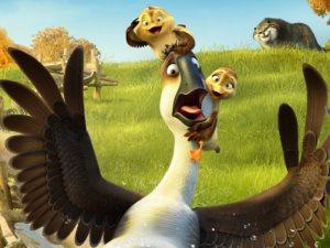 عرض فيلم الأنيميشن «Duck Duck Goose» فى أبريل 2018