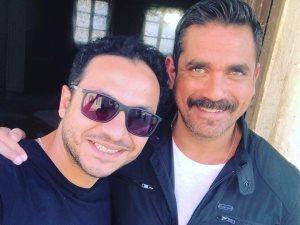 أمير كرارة والمخرج بيتر ميمى كلاكيت تانى مرة فى رمضان 2018