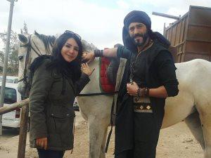 إنجى علاء: نفذت أزياء «كفر دلهاب» قبل شهر واحد من تصوير المسلسل