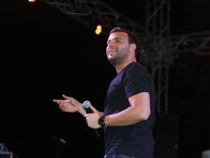صور.. رامى صبرى فى حب مصر بحضور الآلاف بمدينتى