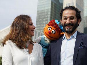 أحمد حلمى ومنى زكى يشاركان فى الدورة الـ72 للجمعية العامة للأمم المتحدة
