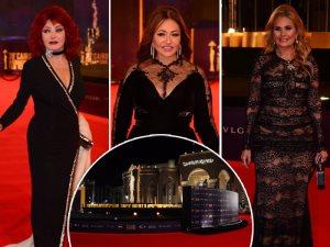 صور.. يسرا وليلى علوى ونبيلة عبيد أول حضور حفل افتتاح «القاهرة السينمائى»