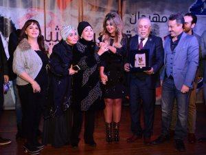 صور.. تكريم سهير البابلى فى مهرجان المهن التمثيلية على مشوارها الفنى الحافل